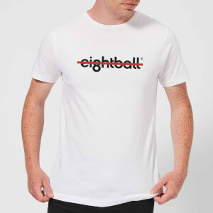 Ei8htball Strike Men's T-Shirt - White