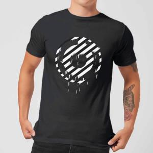 Ei8htball Spray Paint Logo Hacienda Men's T-Shirt - Black