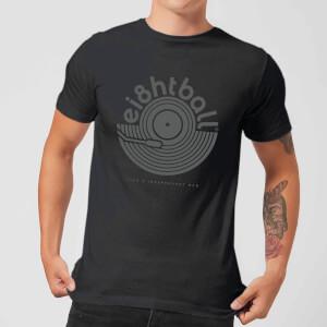 Ei8htball Vinyl Men's T-Shirt - Black