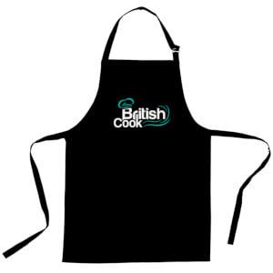 British Cook Apron - Black