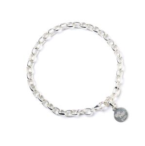 Harry Potter Sterling Silver Branded Charm Bracelet - Adult