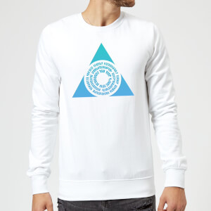 Magic The Gathering Azorius Symbol Sweatshirt - White