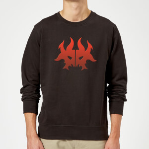 Sweat Homme Symbole de Rakdos - Magic The Gathering - Noir