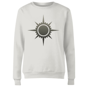 Magic The Gathering Orzhov Symbol Women's Sweatshirt - White