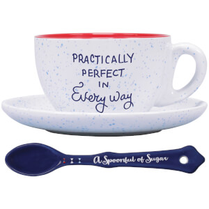 Set taza y plato Mary Poppins