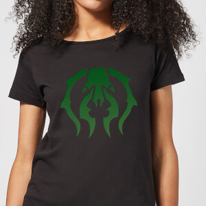 T-Shirt Femme Symbole de Golgari - Magic The Gathering - Noir