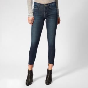 Frame Women's Le Skinny de Jeanne Raw Stagger Jeans - Galvin