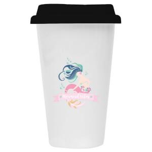 Mermaid Ceramic Travel Mug