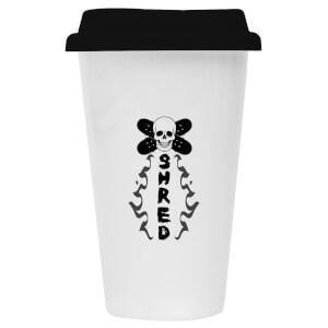Shred Ceramic Travel Mug