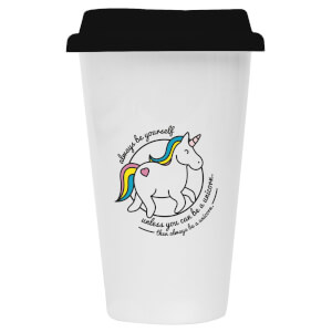 Unicorn Ceramic Travel Mug