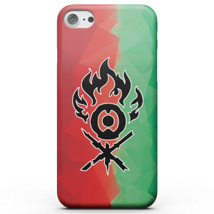 Funda Móvil Magic The Gathering Gruul Fractal para iPhone y Android