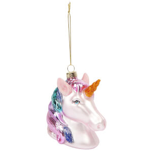 Sunnylife Unicorn Christmas Decoration