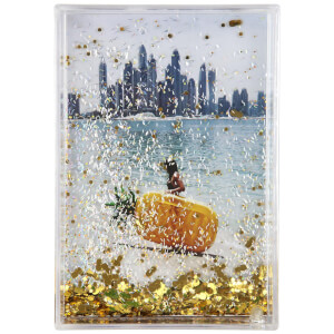 Sunnylife Glitter Picture Frame - Pineapple