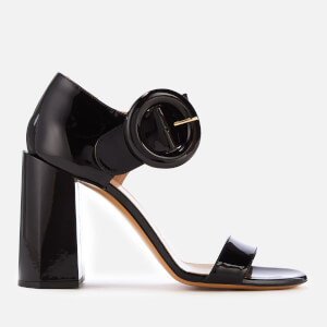 Mulberry Women's Block Heeled Sandals - Black