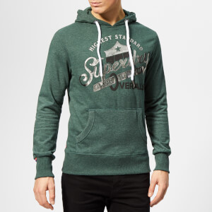 Superdry Men's Heritage Classic Lite Hoody - Forest Marl