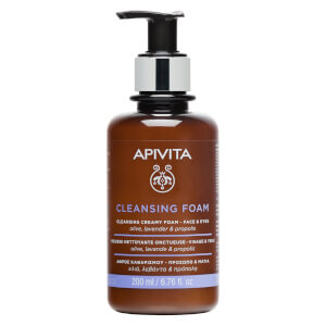 APIVITA Foam Cleanser Face & Eye 200ml