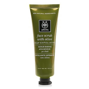 APIVITA Face Scrub for Deep Exfoliation – Olive 50 ml