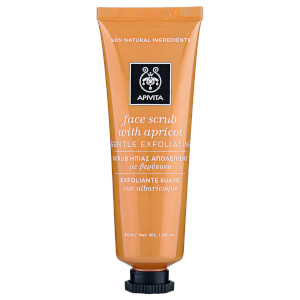 APIVITA Face Scrub for Gentle Exfoliation – Apricot 50 ml