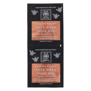 APIVITA Express Firming Face Mask - Royal Jelly 2 x 8 ml