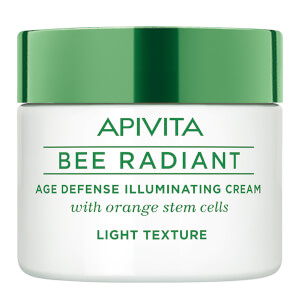 APIVITA Bee Radiant Age Defense Illuminating Cream -voide 50ml, Light Texture