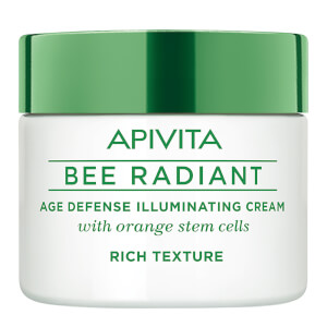 APIVITA Bee Radiant Age Defense Illuminating Cream -voide 50ml, Rich Texture