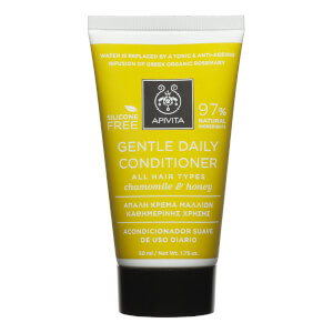 APIVITA Holistic Hair Care Mini Gentle Daily Conditioner for All Hair Types -hoitoaine 75ml, German Chamomile & Honey