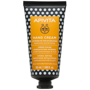 APIVITA Hand Care Intensive Moisturizing Hand Cream - Hyaluronic Acid & Honey 50ml