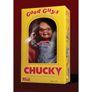 "Child's Play Chucky ""Good Guys"" Fine Art Giclee by Ben Harman (16 Inch x 24 Inch) - Zavvi Timed Edition"