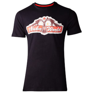 Fallout Men's 76 Nuka World T-Shirt - Black
