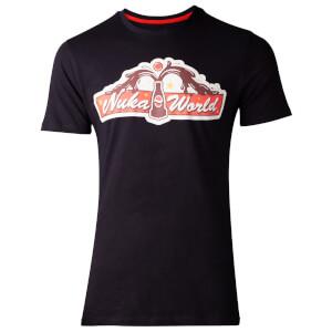 Fallout Men's 76 Nuka World T-Shirt - Black