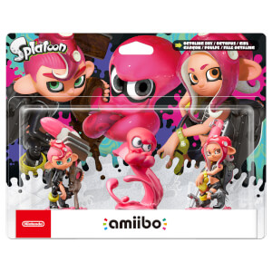 Octoling Triple Pack (Octoling Boy + Octopus + Girl) amiibo (Splatoon Collection)
