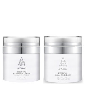 Alpha-H Effortless Essentials 50ml Essential Cleansing Balm & Essential Hydration Cream 50ml