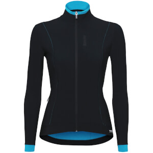 Santini Women's Passo Long Sleeve Jersey - Turquoise