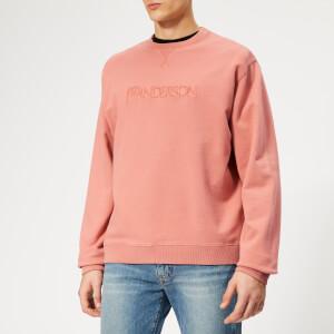 JW Anderson Men's JWA Logo Sweatshirt - Dusty Rose