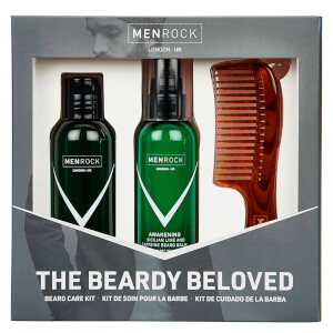 Men Rock The Beardy Beloved Beard Care Starter Kit - Sicilian Lime