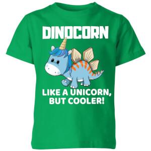 Big And Beautiful Dinocorn Kids' T-Shirt - Kelly Green