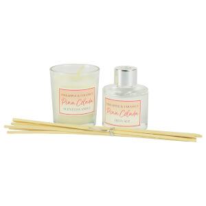 Candle and Diffuser Set - Pina Colada