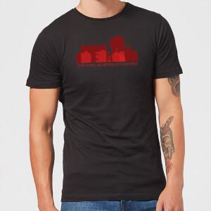 American Horror Story Some Doors Skyline Men's T-Shirt - Black