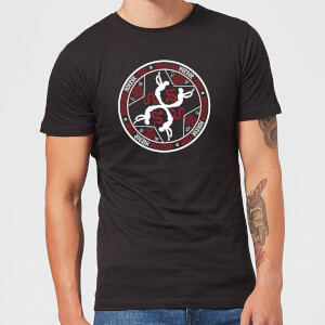 Camiseta American Horror Story Murder House Witchcraft Crest - Hombre - Negro