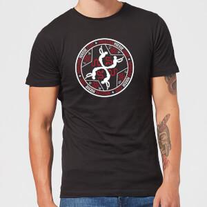 T-Shirt Homme Murder House Witchcraft Crest - American Horror Story - Noir