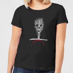 Camiseta American Horror Story Roanoke Skull Tree - Mujer - Negro