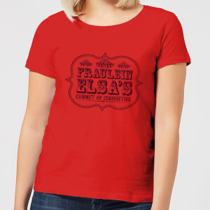 T-Shirt Femme Cabinet Of Curiosities - American Horror Story - Rouge
