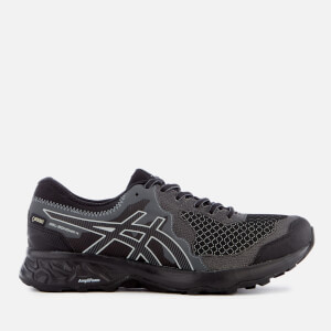 Asics Men's Running Trail Gel Somoma 4 Goretex Trainers - Black/Stone