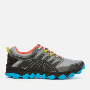 Asics Men's Running Trail Gel-Fujitrabuco 7 Trainers - Stone Grey/Black
