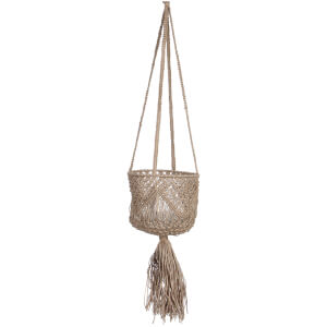 Belmond Hanging Basket - Brown