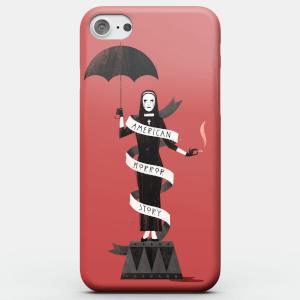 Funda Móvil American Horror Story Umbrella Nun para iPhone y Android