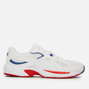 Puma Men's Axis Plus 90's Trainers - Puma White/Puma White