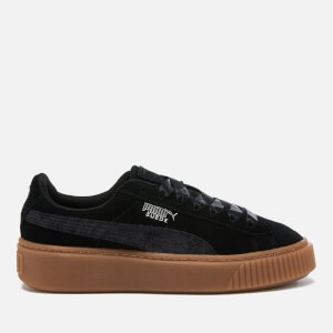 Puma Women's Platform Galaxy Trainers - Puma Black/Gum