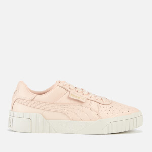 Puma Women's Cali Emboss Trainers - Cream Tan/Cream Tan
