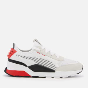 Puma Men's RS-0 Winter INJ Toys Trainers - Puma White/High Risk Red